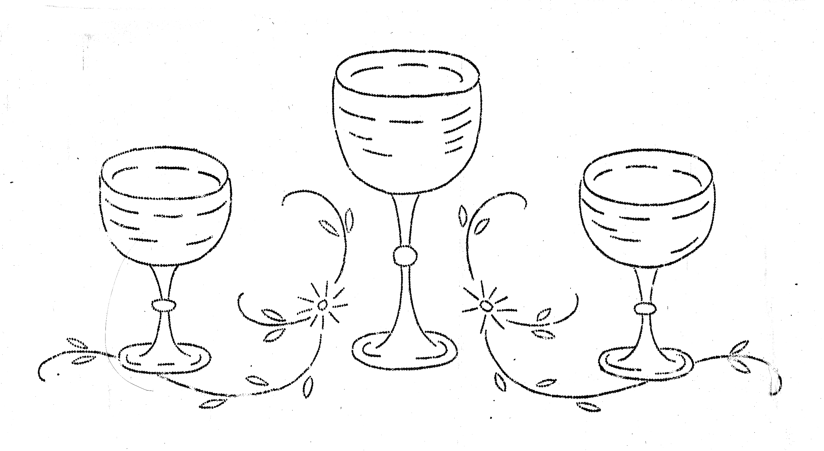 279 goblets