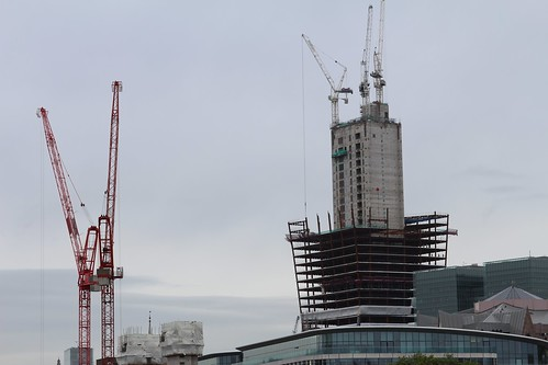 20 Fenchurch Street Construction site