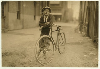 Messenger boy working for Mackay Telegraph Company. Said fifteen years old. Exposed to Red Light dangers.  Location: Waco, Texas. (LOC) | by The Library of Congress