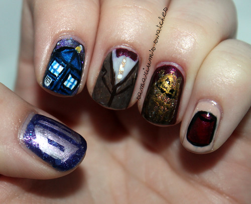 Doctor Who Nails (3)