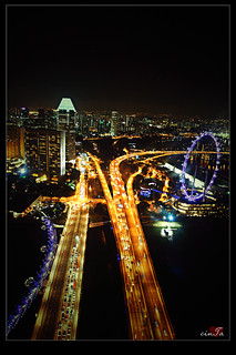 Lights of Singapore City