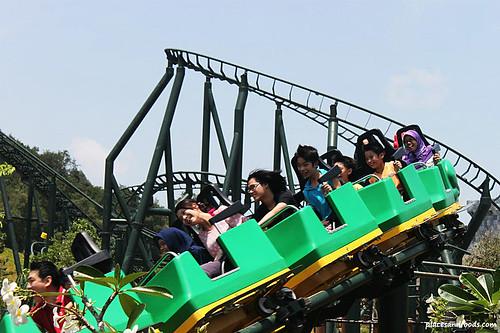 Legoland Malaysia Roller Coaster