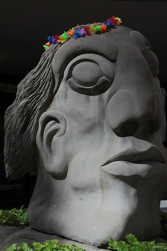 Pride Calgary 2012 - pridefull statue by Wanderfull1