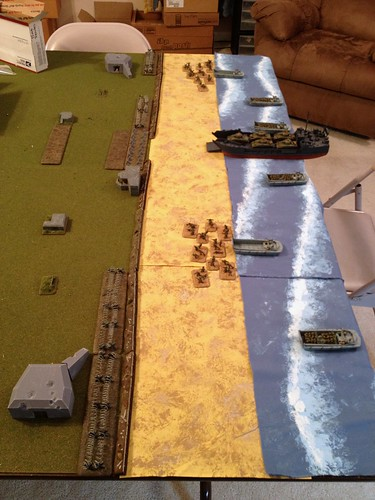 D-Day layout