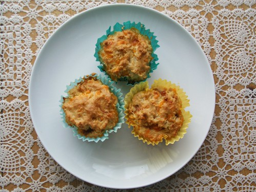 Cheese and chutney muffins