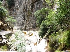 Remontée du haut-Velacu : le virage à gauche (WSW) au-dessus des grandes dalles