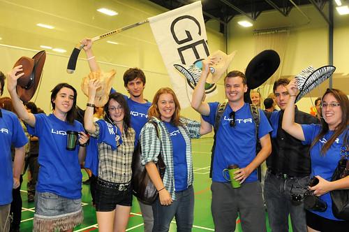 De nouveaux étudiants du programme de baccalauréat en géographie by UQTR