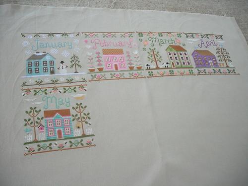 Cottage Progress by jenniferworthen