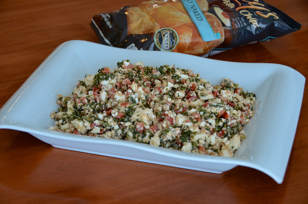 Taboule and Feta Dip