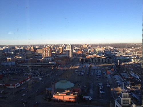 Edmonton the view