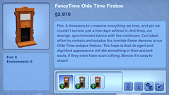 FancyTime Olde Time Firebox
