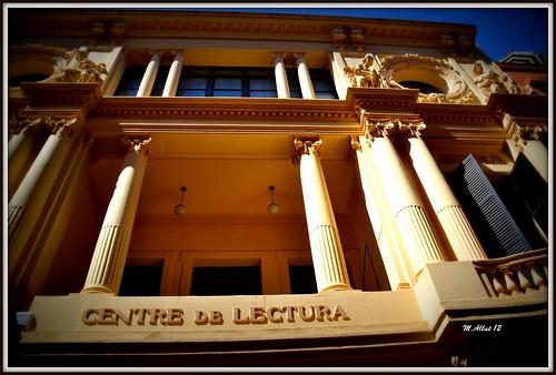 Centre de Lectura by Miguel Allué Aguilar
