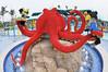 Lego octopus fountain