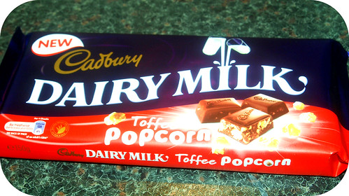 Cadburys Toffee Popcorn Bar