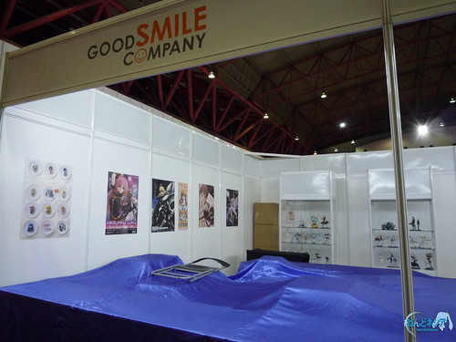 The booth condition on Day 0