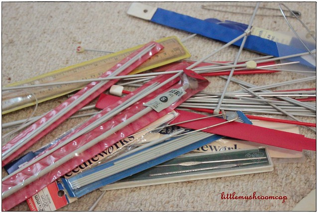 Knitting Needle Thrift Finds