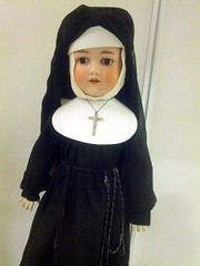 Nun doll, Strong National Museum of Play, Rochester, New York, USA