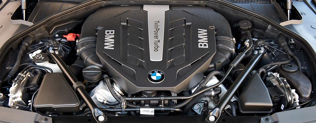 2013 bmw 7 series lci engine bay carbonoctane