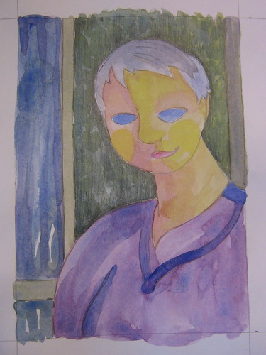Inspired by Amedeo Modigliani by Steph Toth Kates