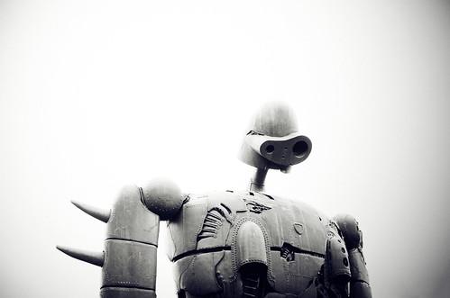 [フリー画像素材] 芸術・アート, 彫刻・彫像, 天空の城ラピュタ ID:201209181800