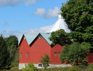 Barn in Mystic, Quebec