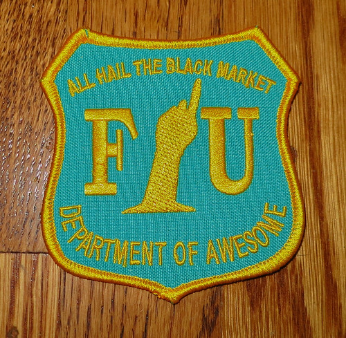 New patches. by All Hail The Black Market