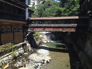 Shima Onsen(Hot Springs)、四万温泉