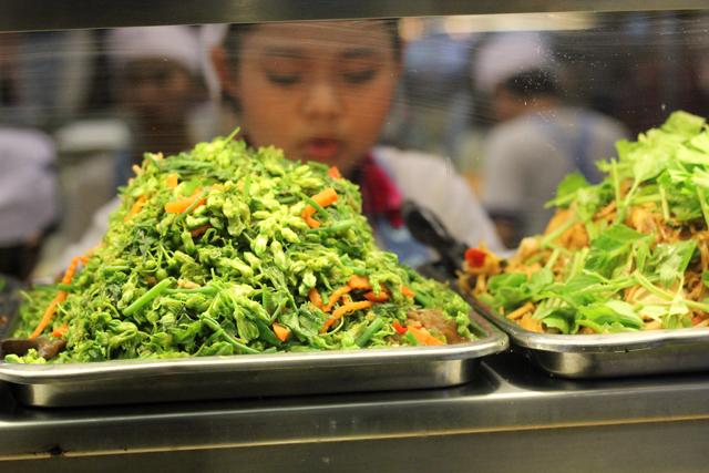 Vegetarian Thai Food Stall