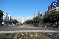 Buenos Aires - San Nicolás: Avenida 9 de Julio