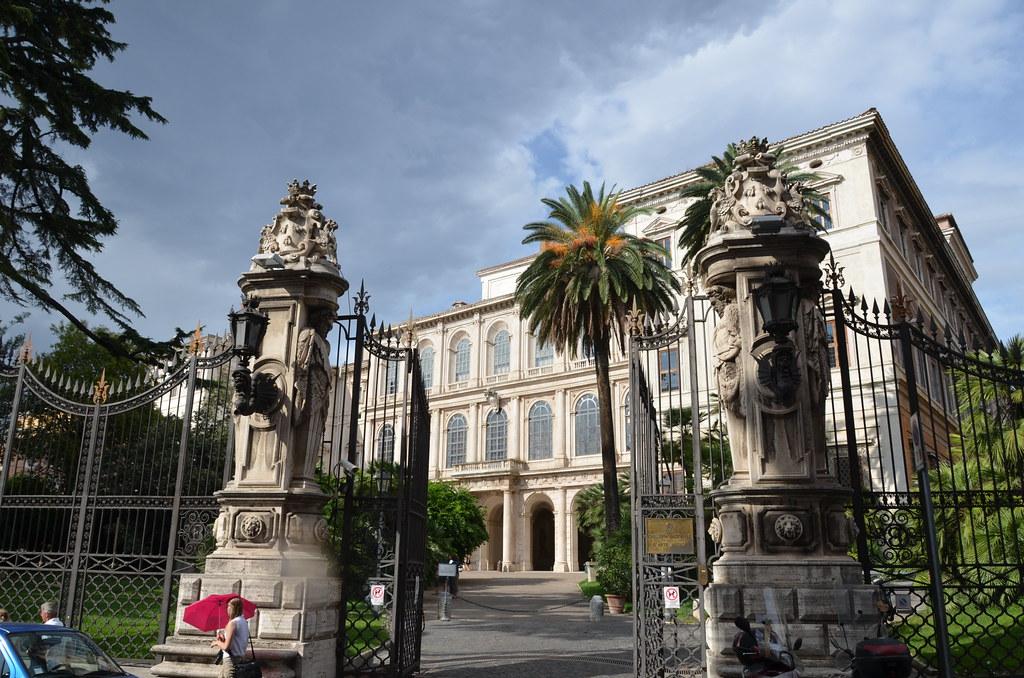 Exterior del Palazzo Barberini