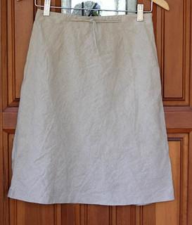 loft linen skirt (for swap)