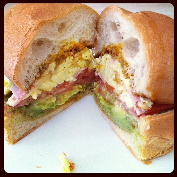 Homemade breakfast torta. | Flickr - Photo Sharing!