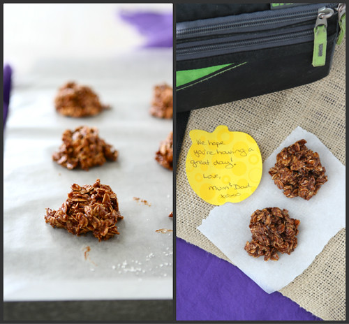 Light(er) No-Bake Cookies Recipe with Dulce de Leche & Oatmeal