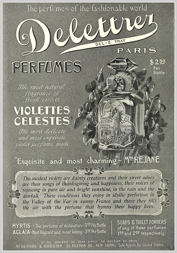 1903 perfume ad by mcudeque
