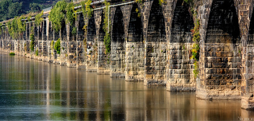 bridge reflection arches pa rockville susquehannariver rockvillebridge stonemasonry shannonroseoshea