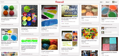 Pinterest - Playdough and Craft Recipes