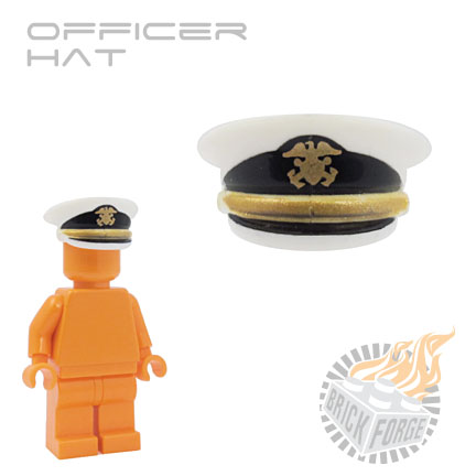 Officer Hat - White (US Navy)