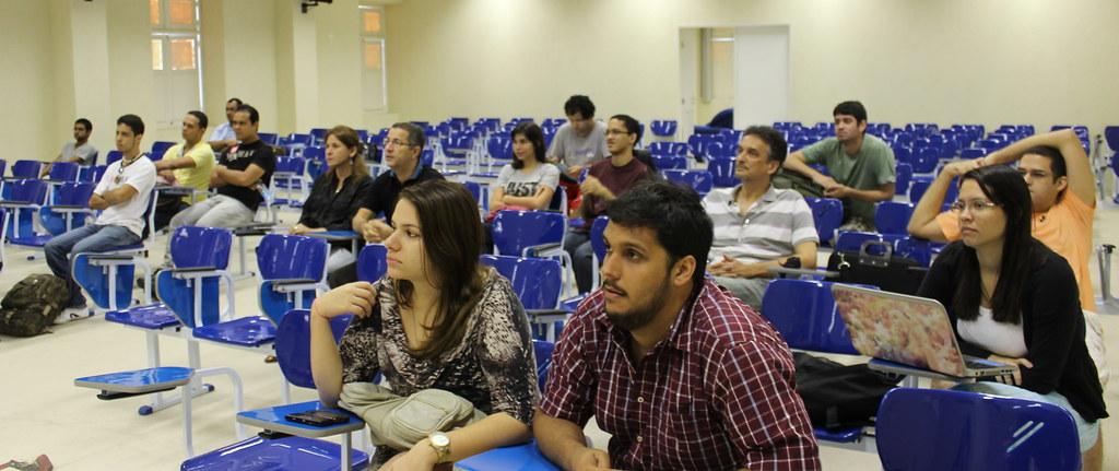 Público no XX PUG-PE
