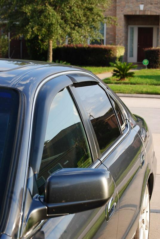 Side window deflector acurazine acura enthusiast community for 2003 acura tl window visor