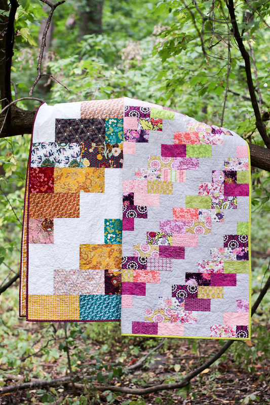 Side Braid Quilt Pattern
