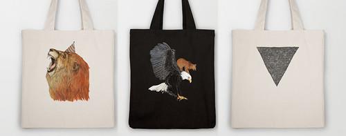 tote bags by www.sandradieckmann.com