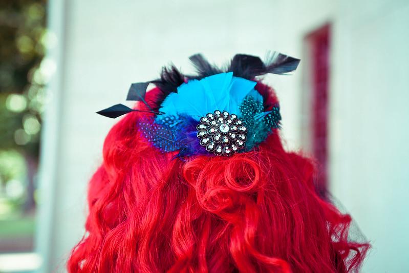 Angel's Self-Made Headpiece