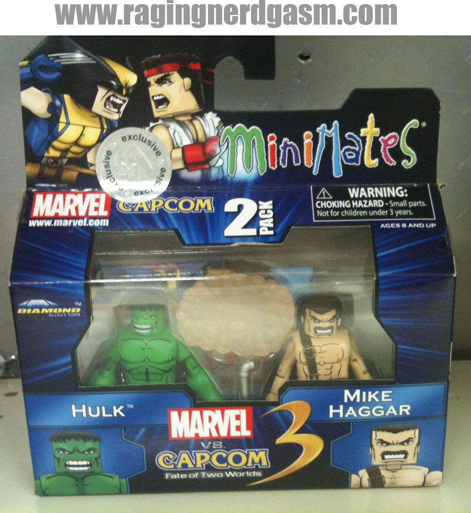 Minimates Marvel vs Capcom 3 010