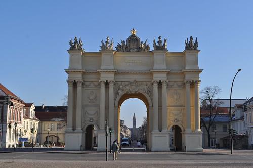 2012.02.01.092 - POTSDAM - Luisenplatz - Brandenburger Tor