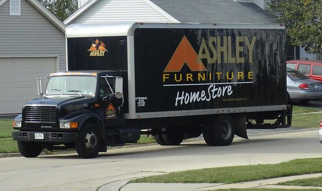 Ashley Furniture Homestore International 4700 Delivery Truck Flickr Photo Sharing