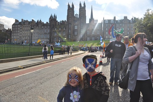 Yes Scotland's first annual Independence rally by PhylB
