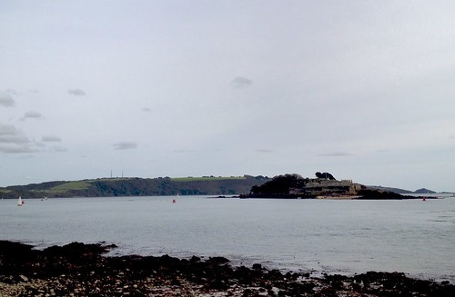 A new view of Drakes Island and Plymouth Sound