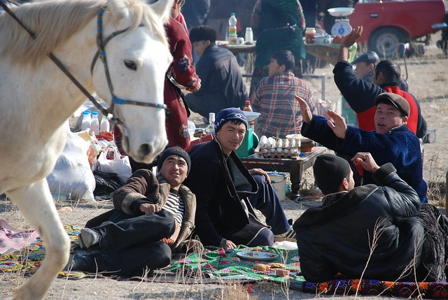 After Buzkashi, near Samarkand 2011