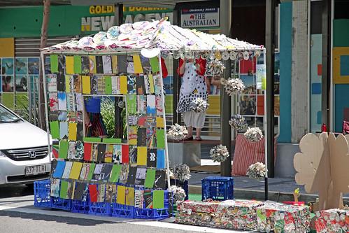 Recycling art park