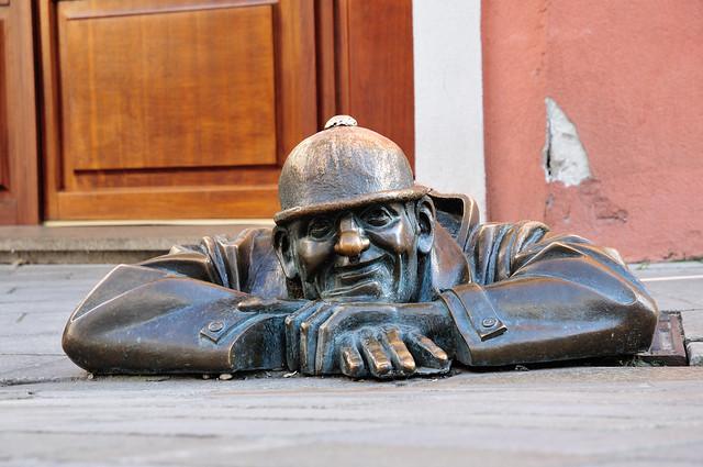 Čumil the workman